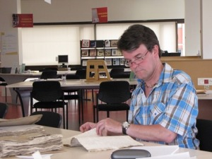 Recherches aux Archives départementales de la Charente-Maritime en juin 2011
