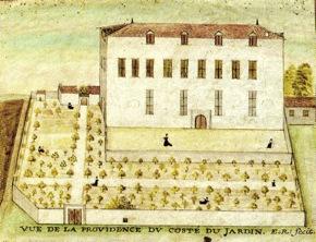 """Dessin original, XVIIe siècle """"La Providence"""". (Source : Archives de l'Évêché de La Rochelle)"""