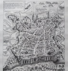 Extrait. Portrait de La Rochelle et des forteresses que les rebelles y ont fait depuis les premiers troubles jusqu'à présent. 1573.