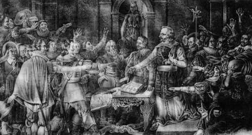 Le dimanche de la Quasimodo à La Rochelle (1628).