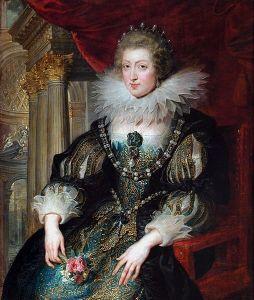 Portrait d'Anne d'Autriche (1601-1666) par Rubens (1625) (Source : http://fr.wikipedia.org/wiki/Anne_d'Autriche_(1601-1666))