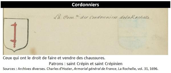cordonniers
