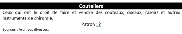 couteliers