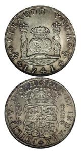 Les pièces de huit étaient frappées par les Espagnols à partir de l'argent provenant du Nouveau Monde (Amériques). Une pièce de huit valait huit réaux d'argent (8 x 1 réal). (Source : http://www.icollector.com)