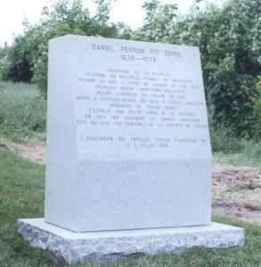 Monument Daniel Perron