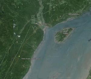 Petite-Rivière (Côte Saint-François), près de Baie Saint-Paul