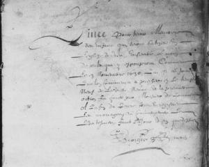 Source : AD17 en ligne. I 169 (I 33). La Rochelle. Collection du greffe. Baptêmes, réceptions et mariages. 1630-1632. Vue  2/87.