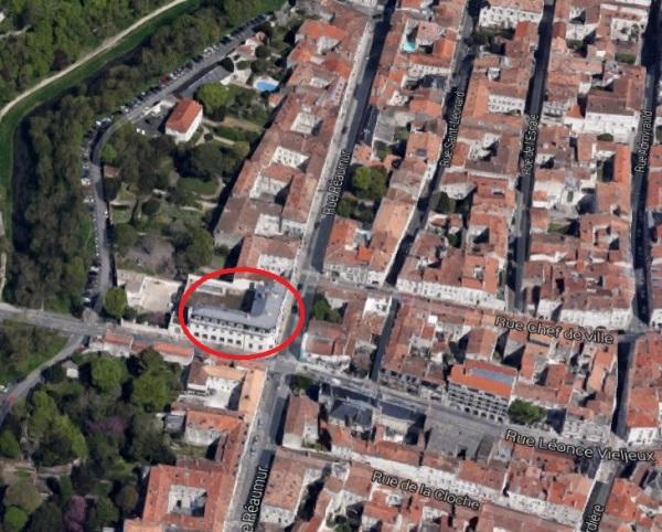 Emplacement de l'ancien cimetière RPR. (Source : Google Earth)