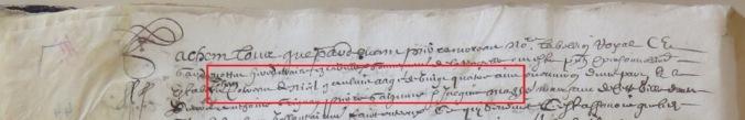 Contrat d'engagement de Jean Cotereau
