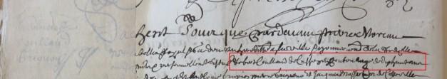 Contrat d'engagement de Robert Coullaud
