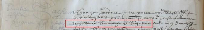 Contrat d'engagement d'André Pillet