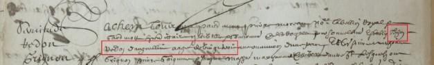 Contrat d'engagement de Jean Redon