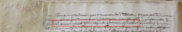 Contrat d'engagement d'Élie Riollet