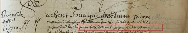Contrat d'engagement de Jacques Rollé