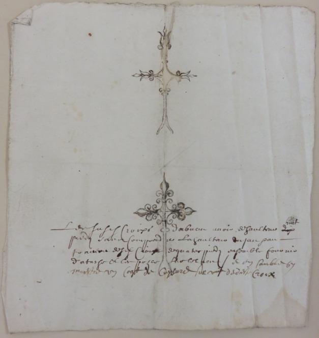 Source : Extrait. Devis des réparations à faire. AM17. Police de commerce contre les réformés. HHARCHANC22. 1638-1639.