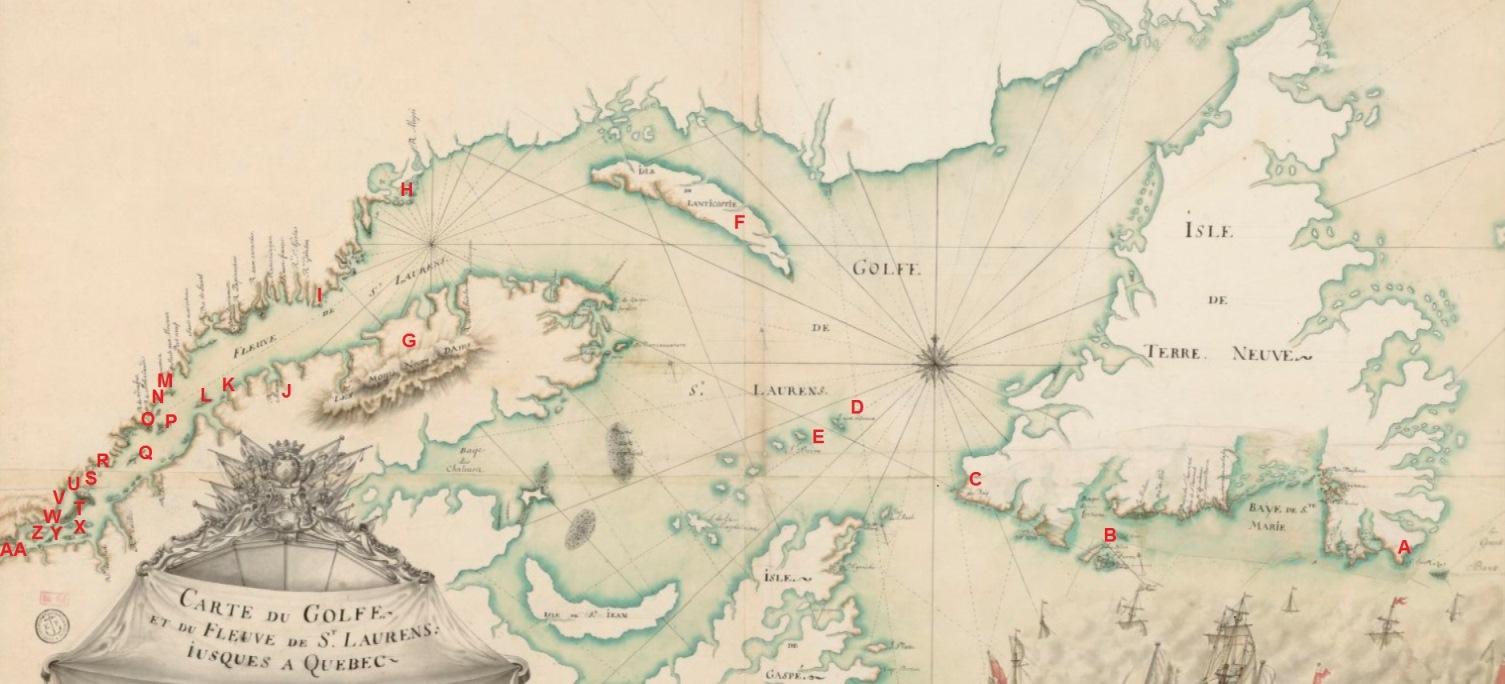 107 la navigation entre la rochelle et le canada observations de jean talon en 1665 le. Black Bedroom Furniture Sets. Home Design Ideas