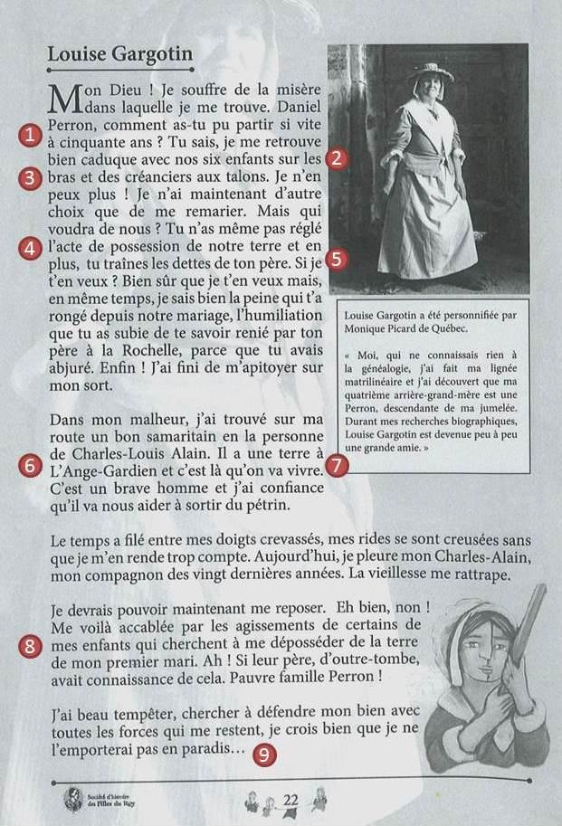 (Source : Louise Gargotin dans « Hommages aux Mères de la Nation », SHFR, p. 22)