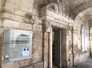 Palais de justice de La Rochelle (Facebook)