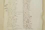 Rôle d'équipage et liste des passagers du navire Le Saint-Jean-Baptiste. 1666